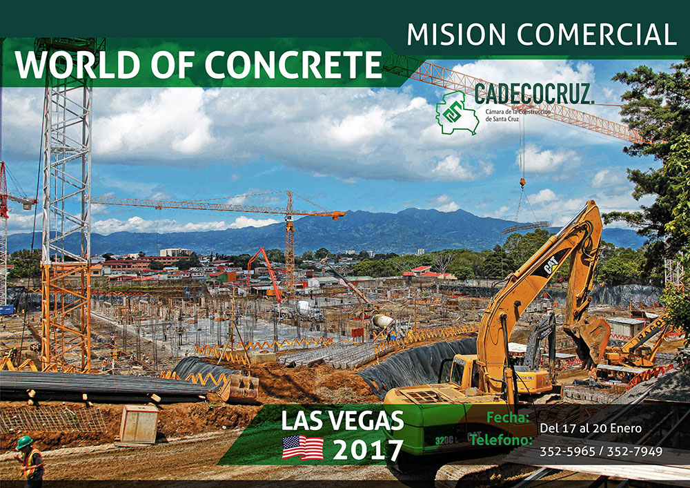 MISION COMERCIAL WORLD OF CONCRETE